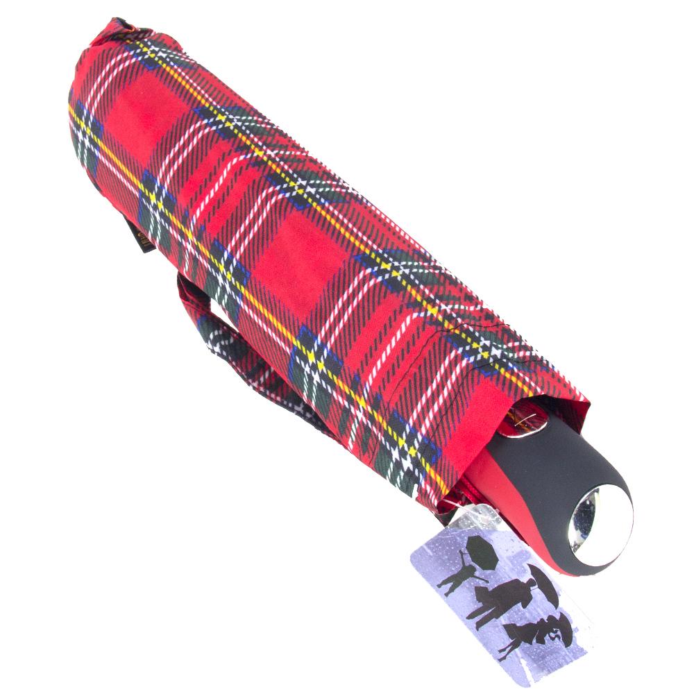 Зонт универсальный, полуавтомат, сплав, пластик, полиэстер, длина 55см, 8 спиц, 6 дизайнов,3425