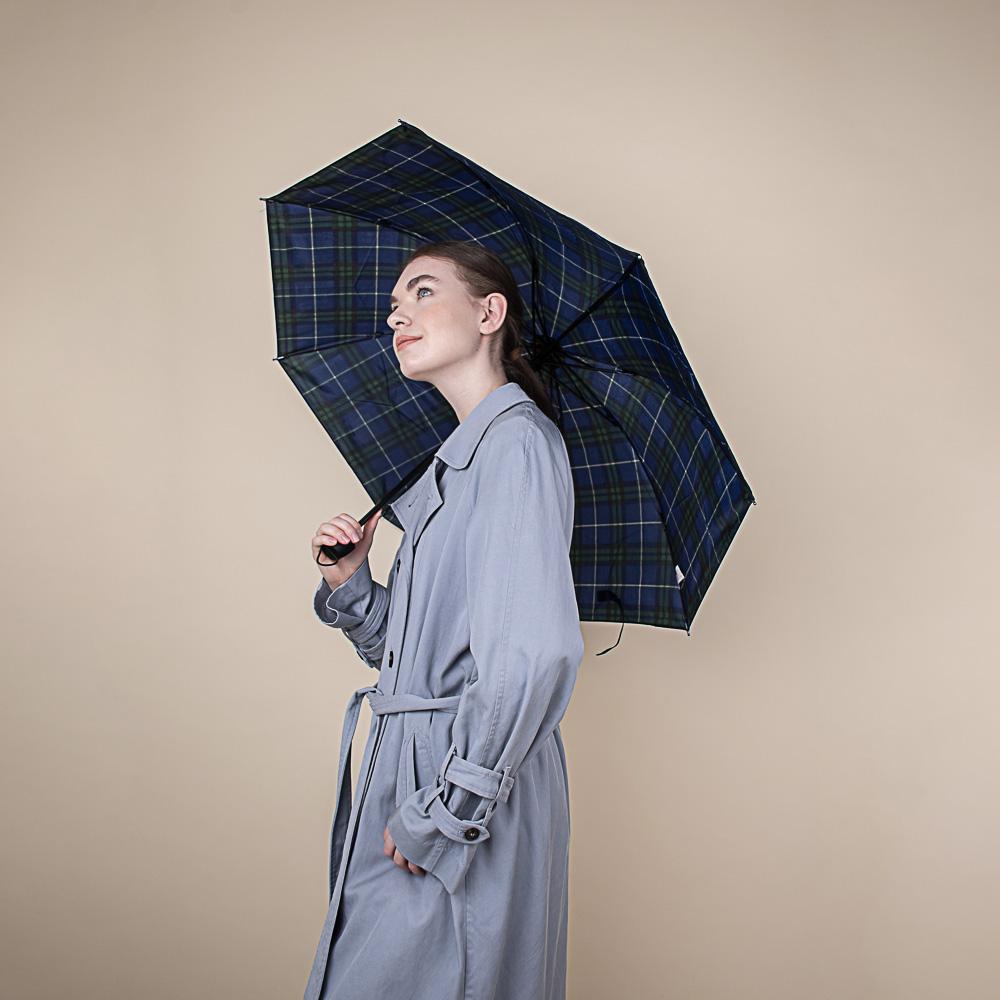 Зонт женский, механика, сплав, пластик, полиэстер, длина 55см, 8 спиц, 6 цветов,302