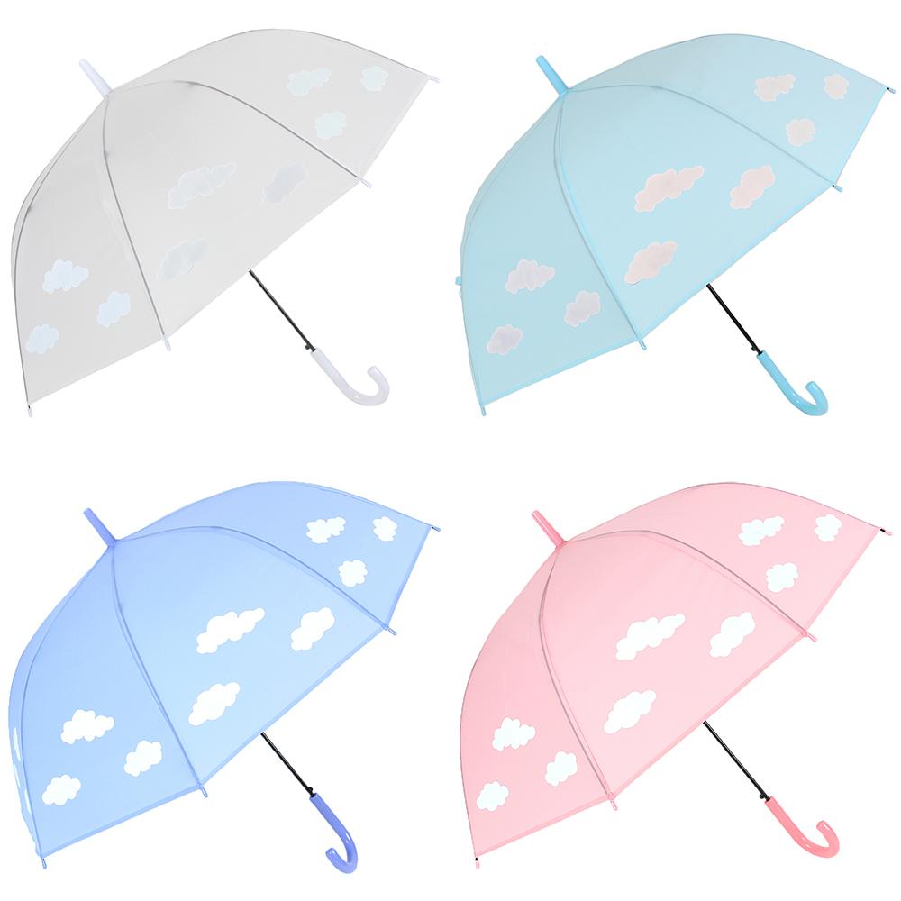 Зонт-трость женский с проявляющимся рисунком, пластик, сплав, ПВХ, длина 60см, 8 спиц, 4 цвета,606