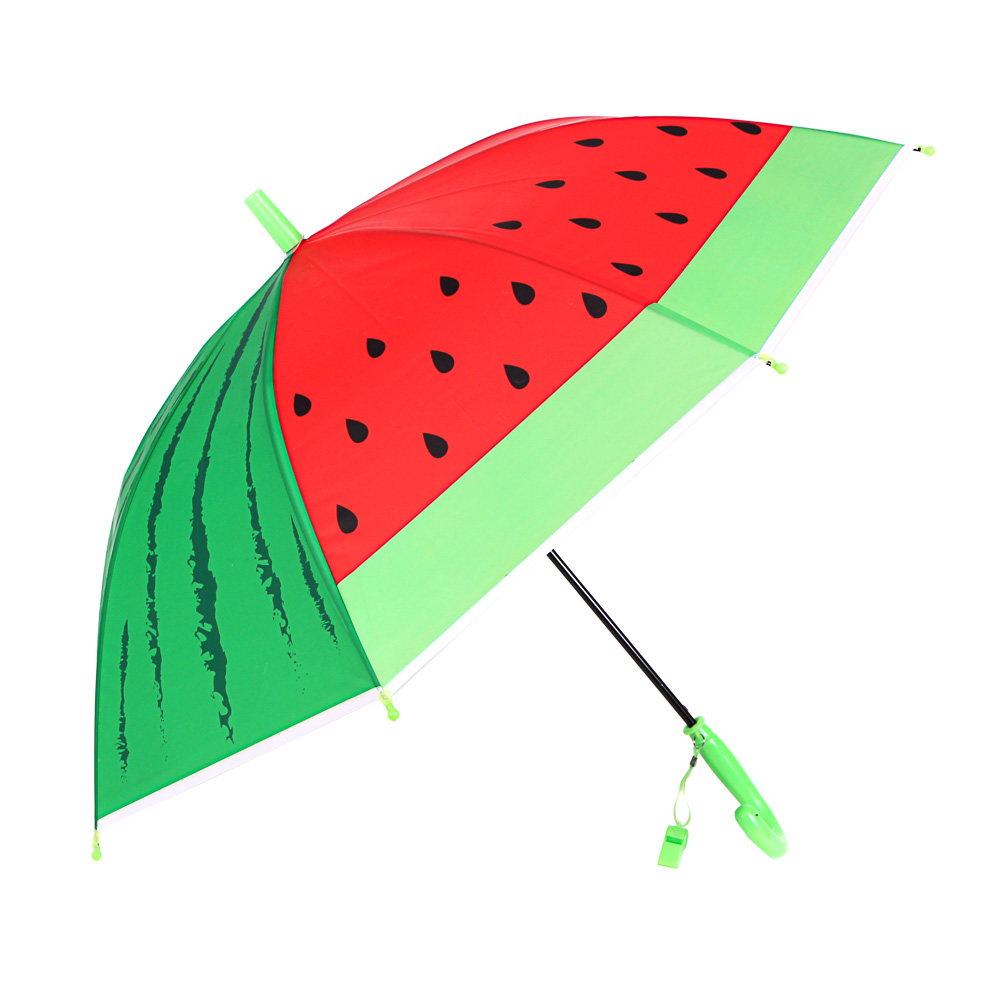 Зонт-трость для мальчиков, сплав, пластик, ПВХ, полиэстер, длина 50см, 8 спиц, 4 дизайна,0051