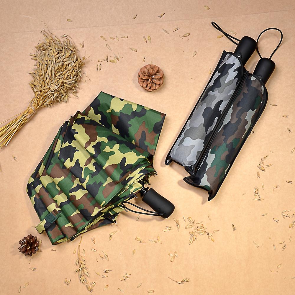 Зонт мужской, полуавтомат, сплав, пластик, полиэстер, длина 55см, 8спиц, 3 цвета,3713А