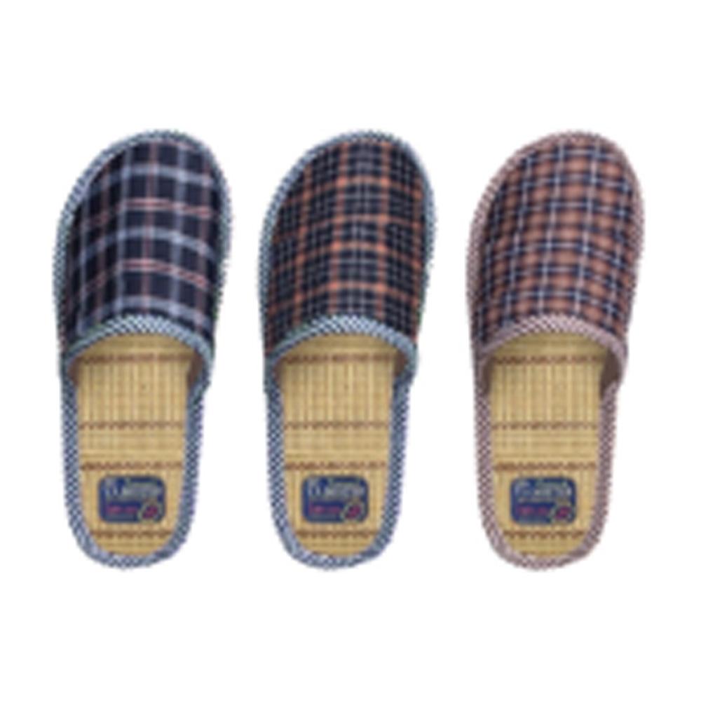 Туфли комнатные мужские, текстиль, р.40-45