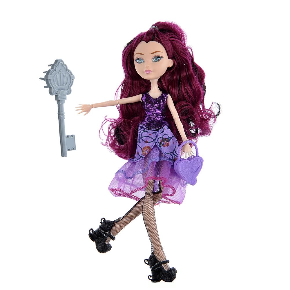 Кукла шарнирная в бальном платье, 29см, пластик, полиэстер, 4 дизайна