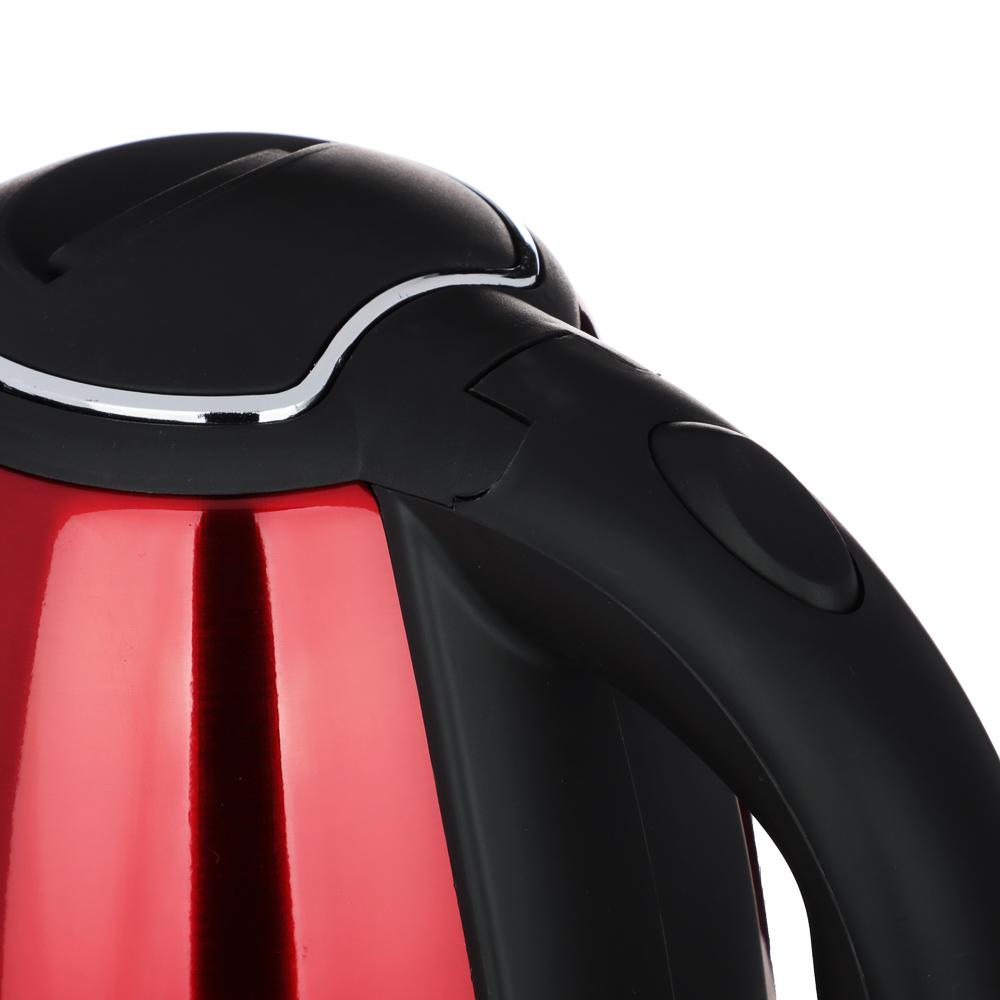 Чайник электрический 1,8 л LEBEN, 1500 Вт, нержавеющая сталь, 4 цвета
