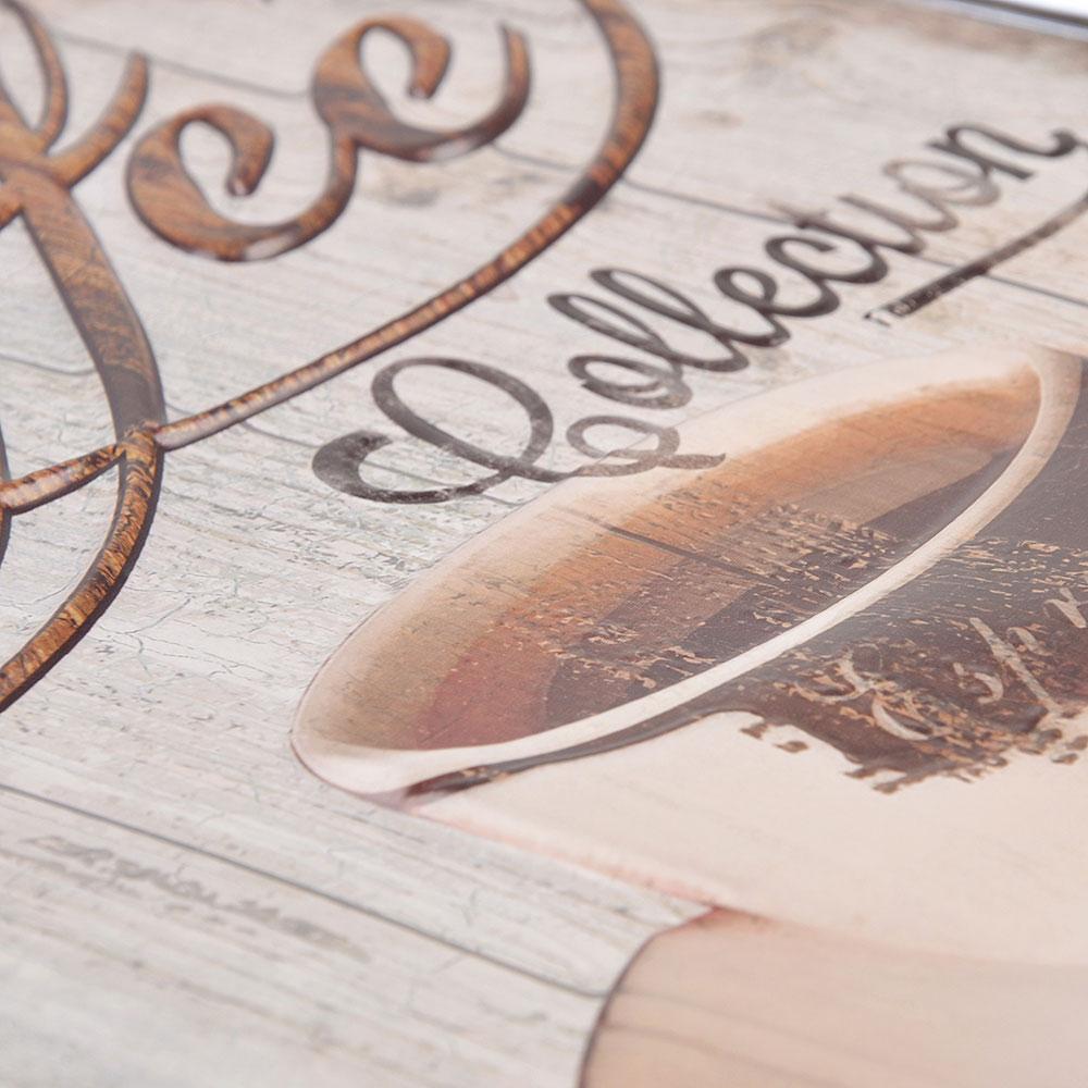 LADECOR Наклейка декоративная интерьерная, 3D эффект, 6 дизайнов, 39х26/30х25 см