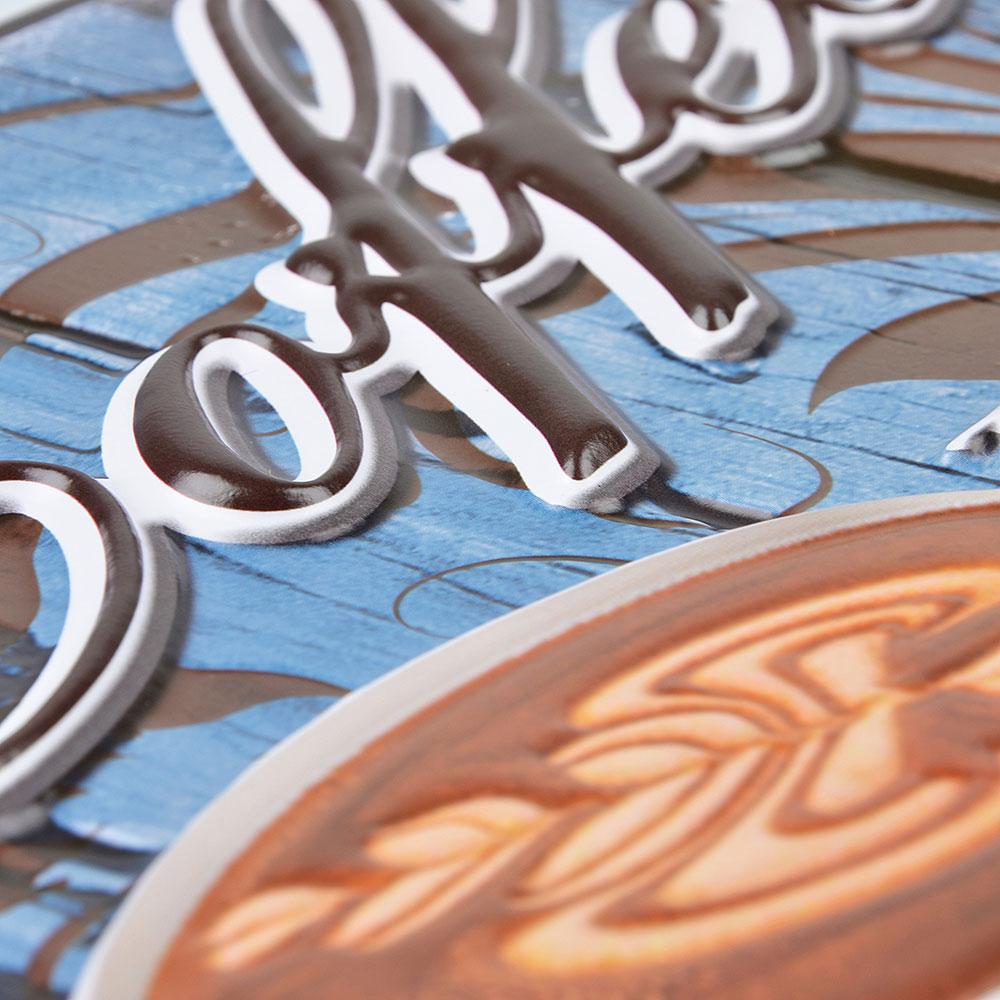 LADECOR Наклейка декоративная интерьерная, 3D эффект, 2 дизайна, 31х41/28,5х29 см