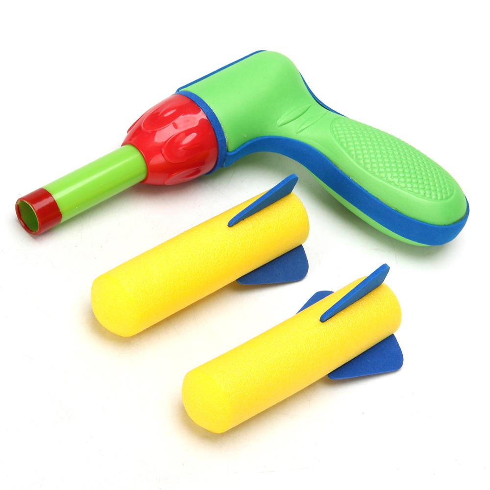 SILAPRO Пистолет детский, пневмо, 37x173x120мм, ABS, EVA экологически чистый материал