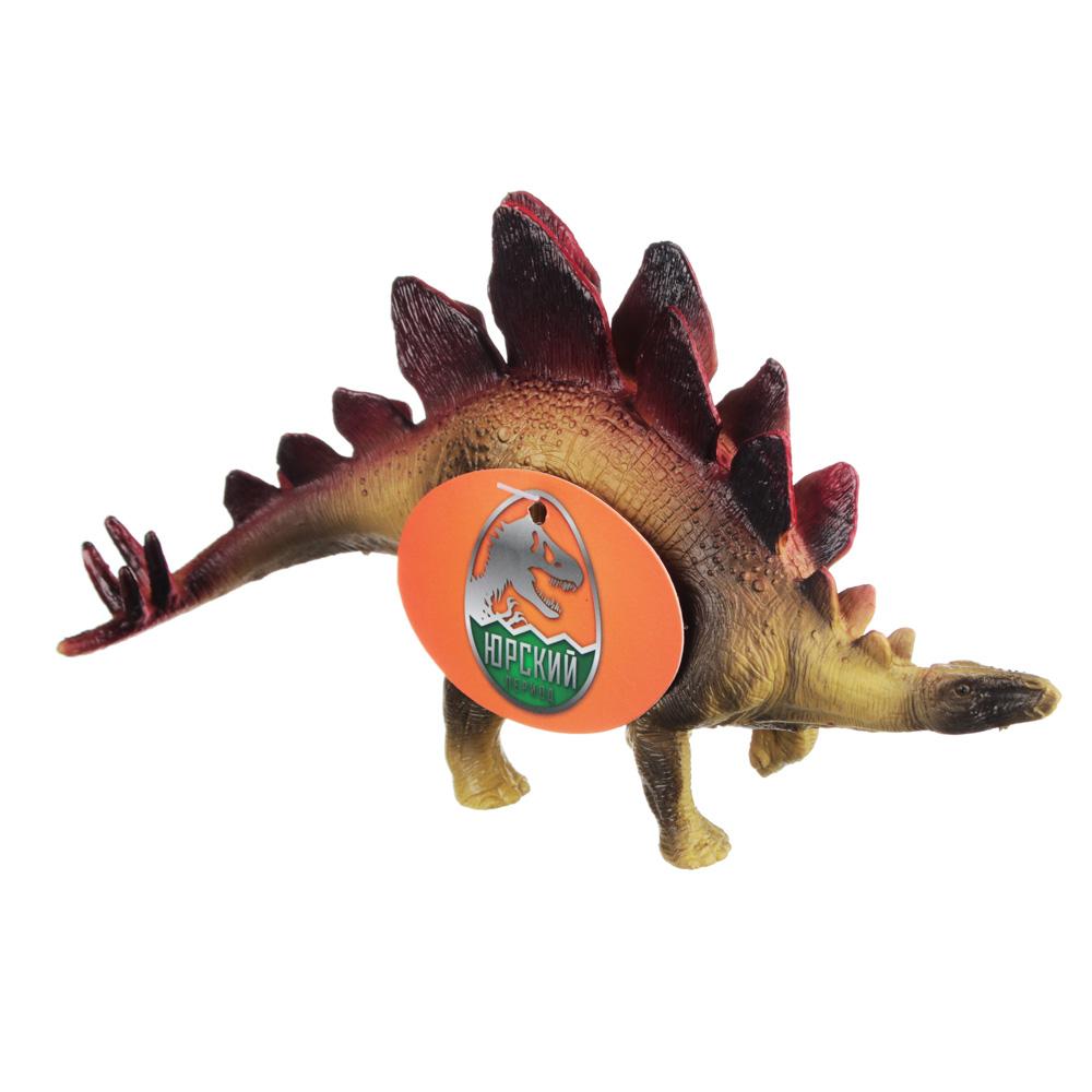 ИГРОЛЕНД Фигурка в виде динозавра, 20см, PVC, 12 дизайнов