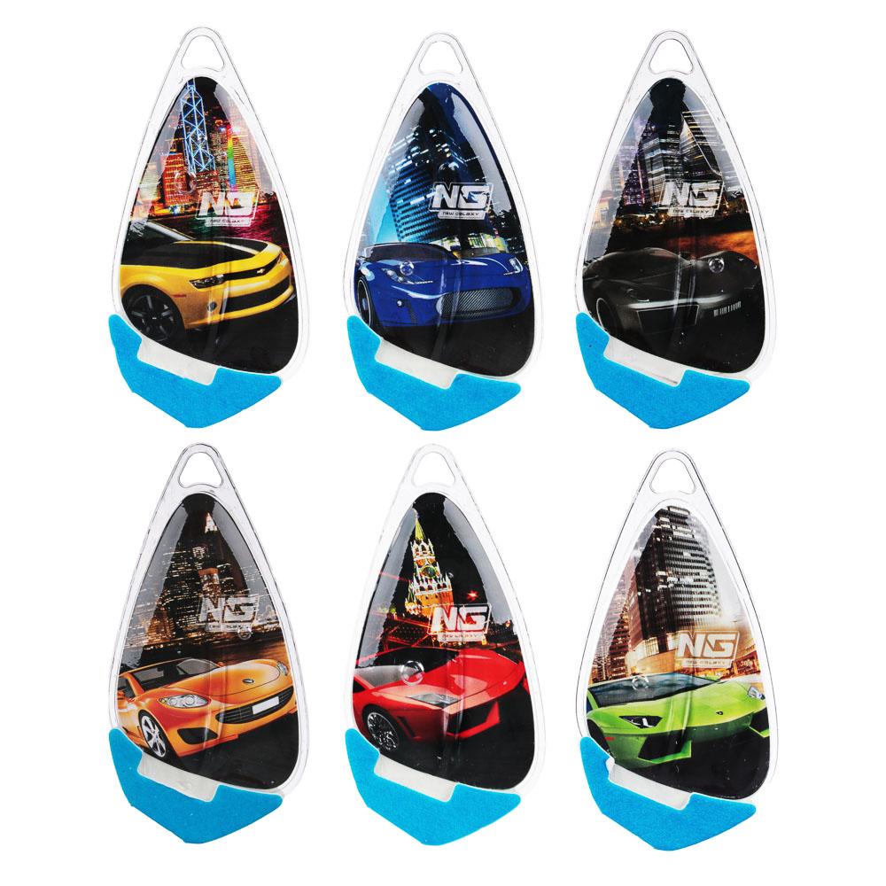 NEW GALAXY Ароматизатор подвесной гелевый Racer,8мл, 6 ароматов