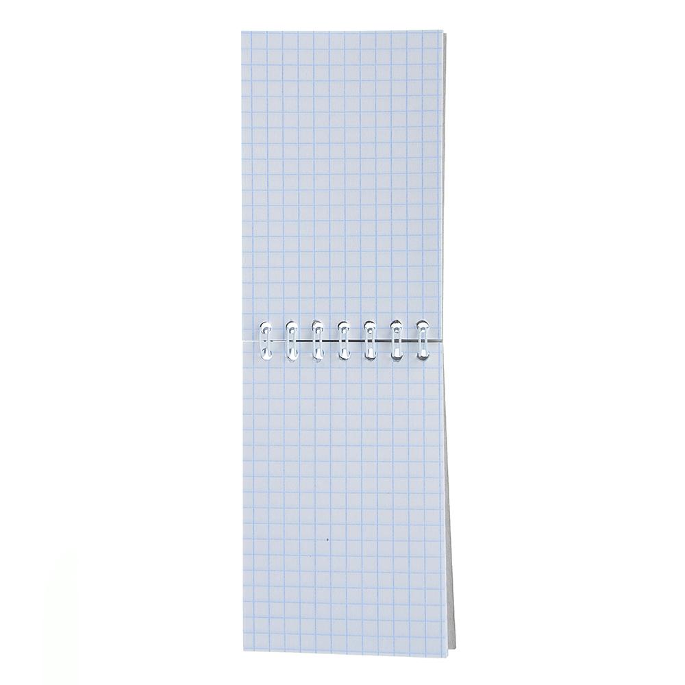 Блокнот А7 40 листов в клетку, 7 дизайнов