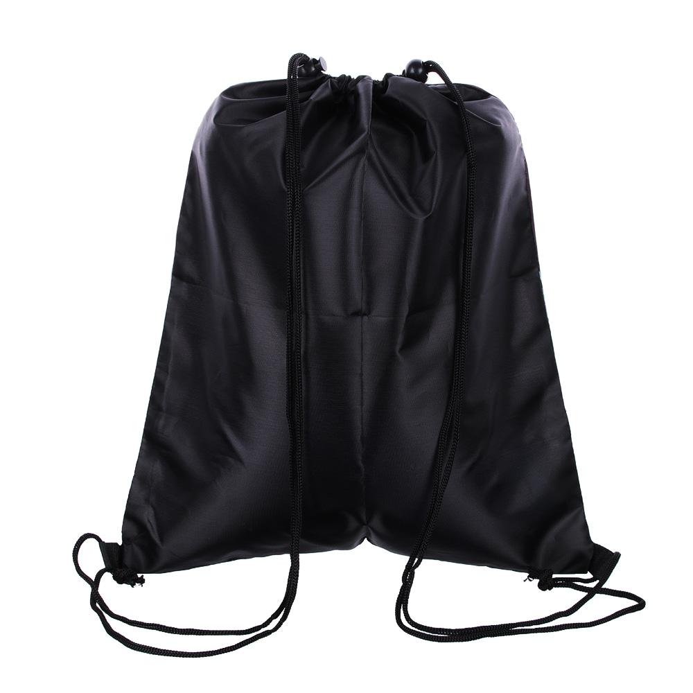 Найт хоук Мешок для сменной обуви, на завязках с фиксаторами 34,8x41,5см, полиэстер