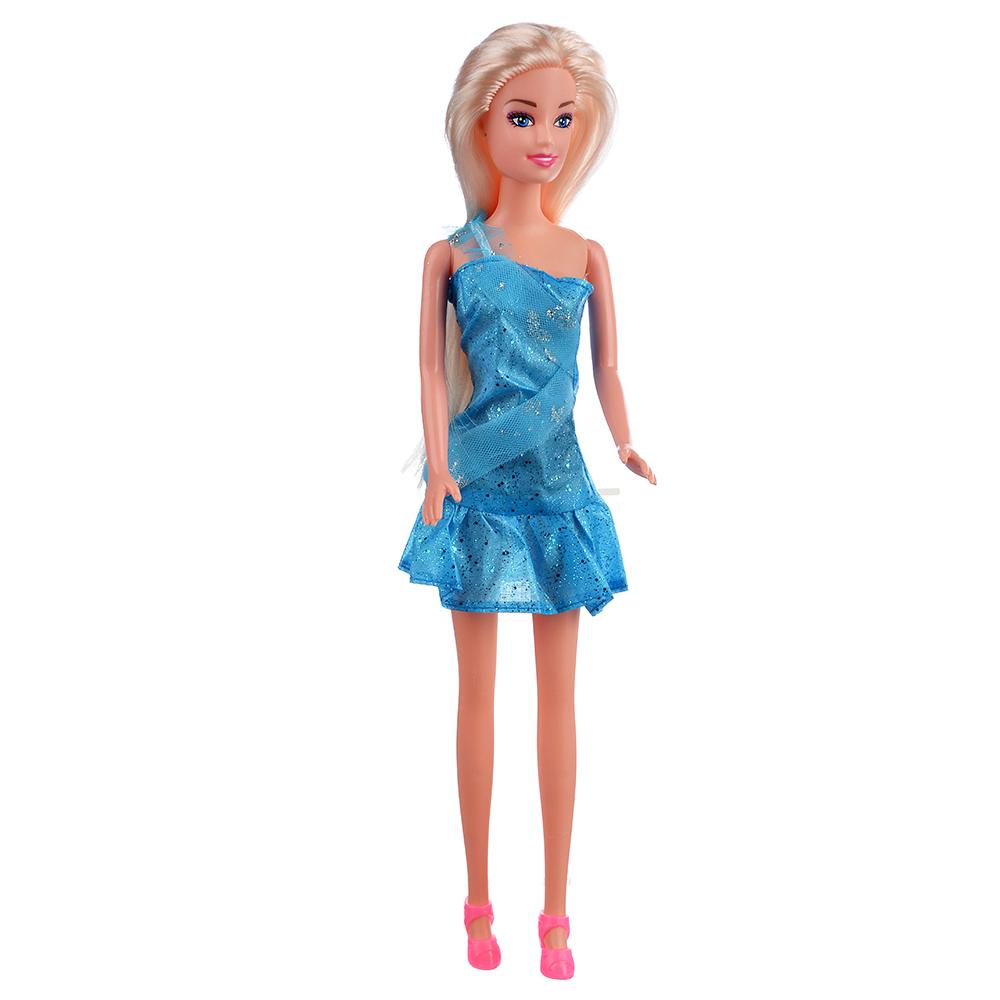 ИГРОЛЕНД Кукла, 29 см, пластик, полиэстер, 6,6х4,5х29,5см
