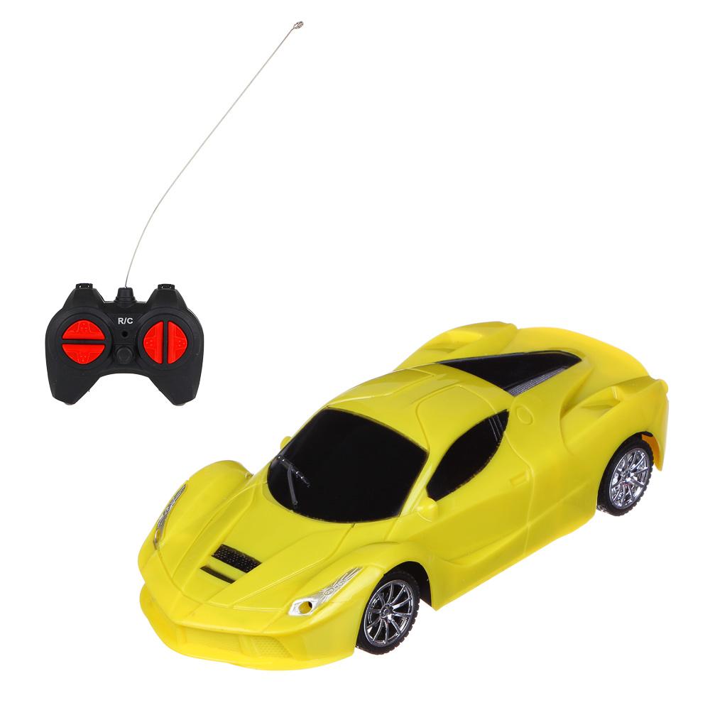 ИГРОЛЕНД Машина на радиоуправлении спортивная, свет, 5АА, пластик, 24,5х11х10см