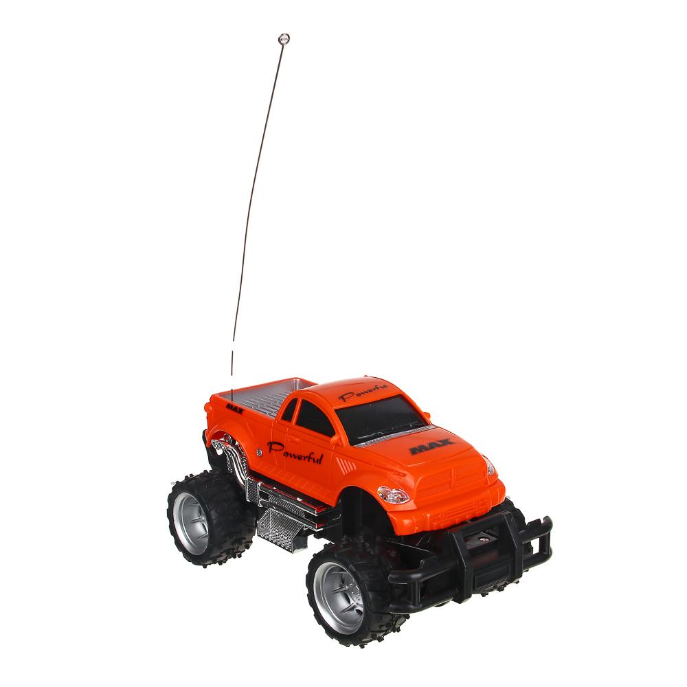 ИГРОЛЕНД Машина на радиоуправлении в виде пикапа, 5АА, пластик, 23х14х13см