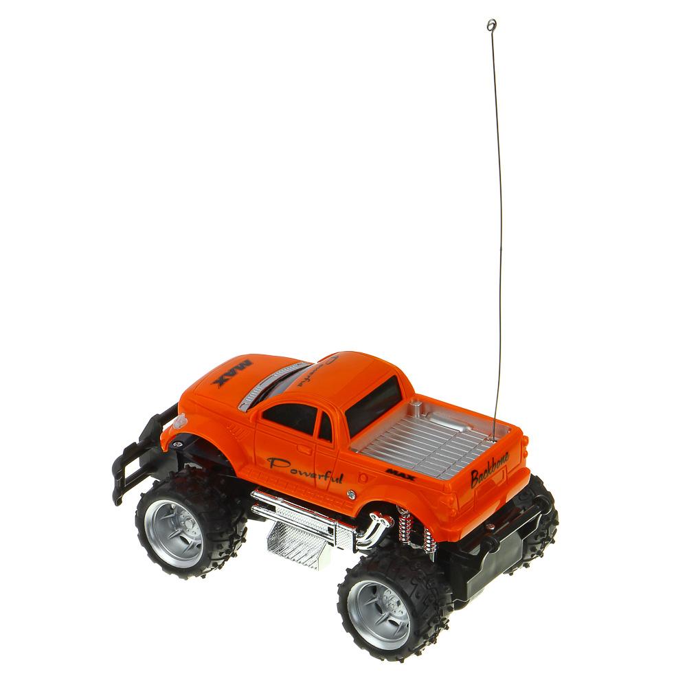 ИГРОЛЕНД Машина на радиоуправлении в виде пикапа, 5АА, ABS, TPR, PP,PE, PS, 23х14х13см