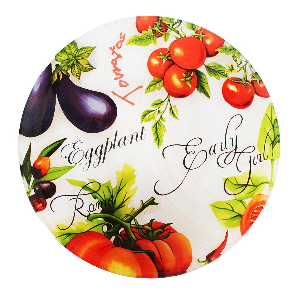 Урожай Салатник большой, стекло, 30х6см