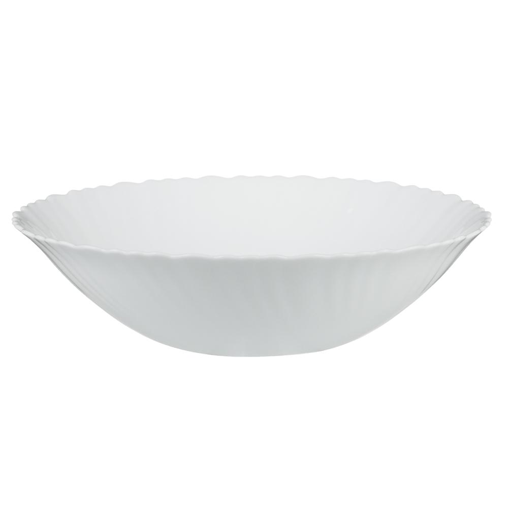 """Салатник d.24 см, опаловое стекло, MILLIMI """"Бьянко"""""""