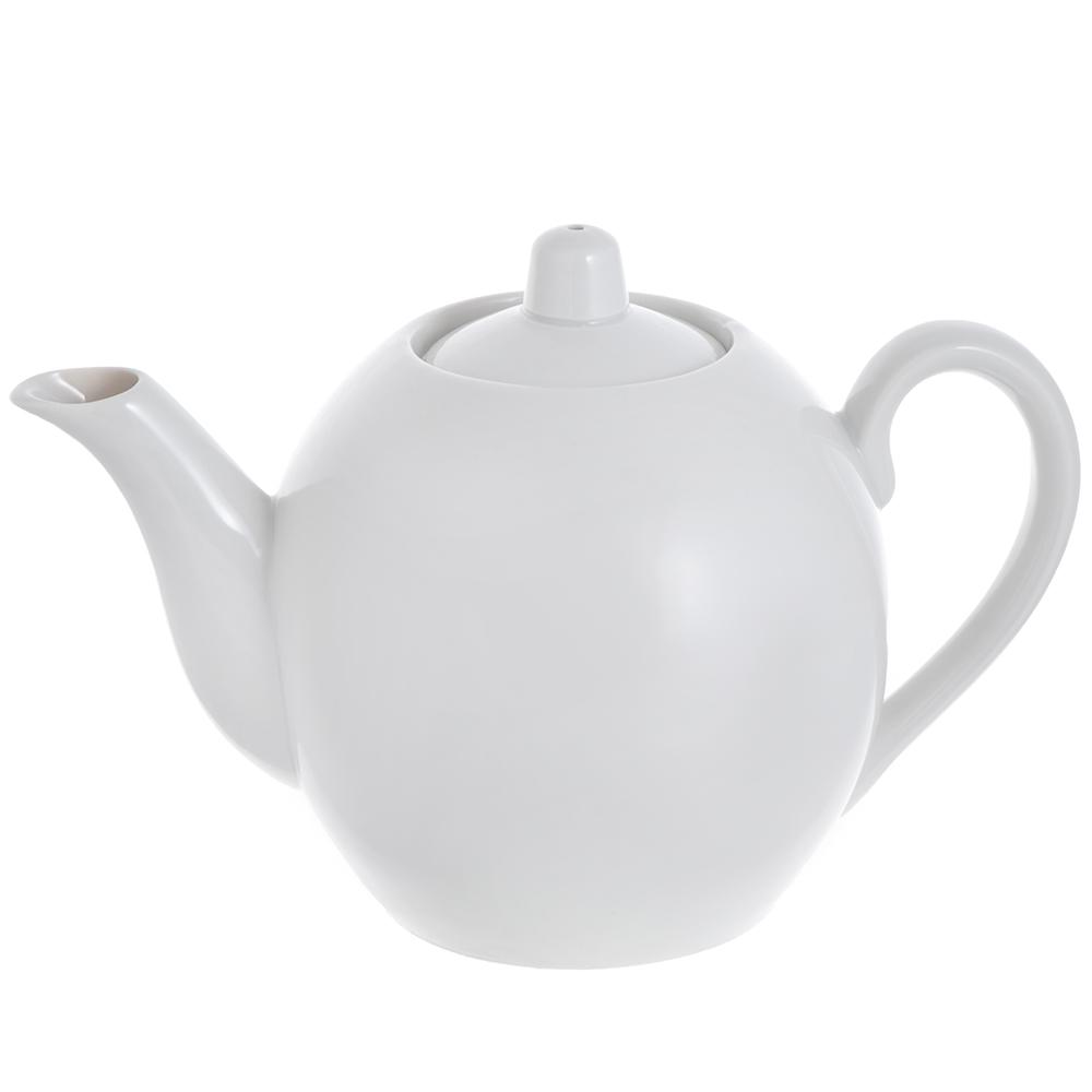 Чайник 800мл, фарфор, арт. 162000Б