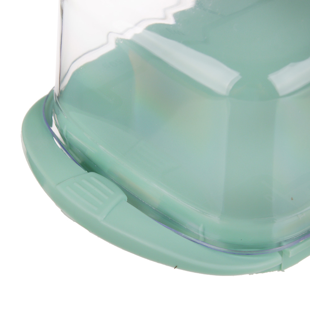 Масленка пластиковая 171х90х66 мм, 3 цвета, VETTA