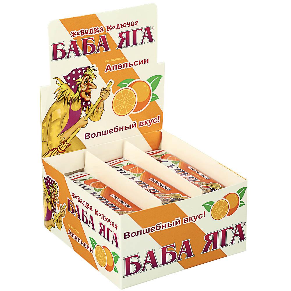 """БАД Конфета жевательная """"БАБА ЯГА"""", в ассортименте, 11г."""