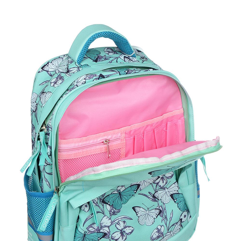 Рюкзак школьный  Винтаж коллекшн 41x31x18см, 2 отделение, 3 кармана, уплотненная спинка, лямки