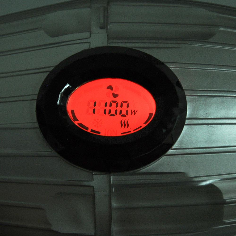 Фен для волос LEBEN PRO 2200 Вт, LCD дисплей, ионизация
