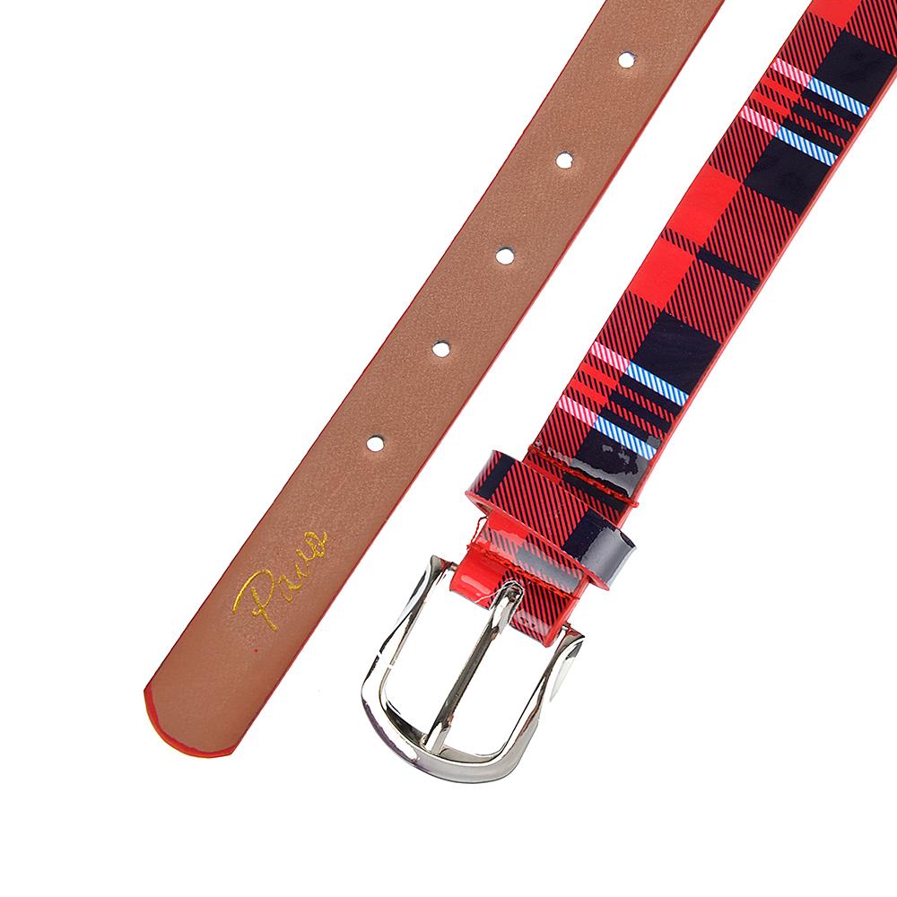 PAVO Ремень для девочек, ПУ, сплав, длина 70/80см, ширина 2,2см, 4 цвета, РД19-4