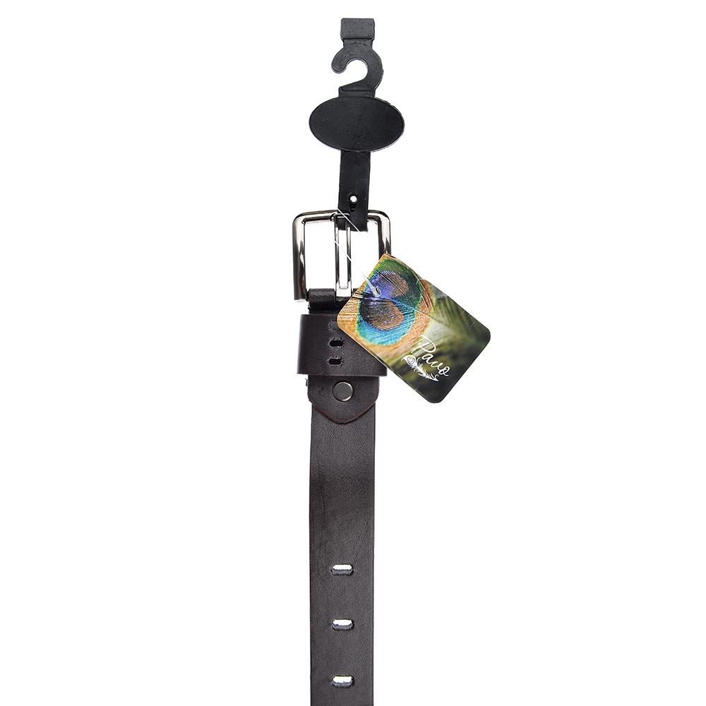 PAVO Ремень для мальчиков, ПУ, сплав, длина 80/90см, ширина 2,6см, 2 цвета, РД19-6