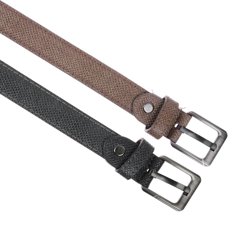 PAVO Ремень для мальчиков, ПУ, сплав, длина 80/90см, ширина 2,3см, 2 цвета, РД19-8