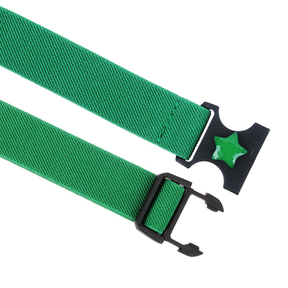 PAVO Ремень-резинка для мальчиков , пластик, полиэстер, длина 65см, ширина 2,3см, 2-4 цвета, РД19-9