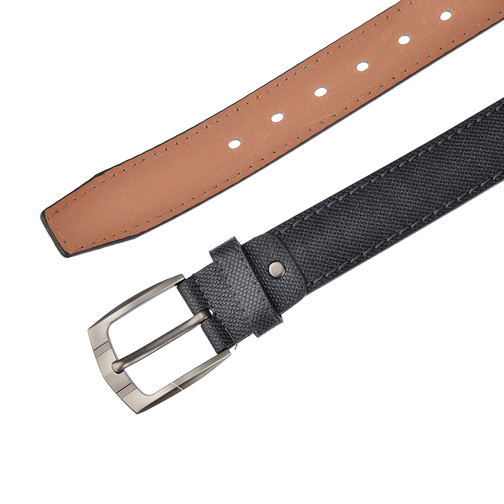 PAVO Ремень мужской, ПУ, сплав, длина 120/130см, ширина 3,7см, 2 цвета, РМ19-4