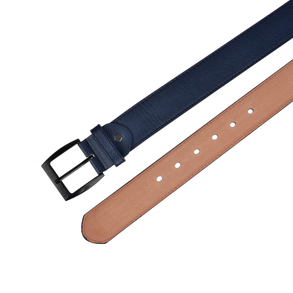 PAVO Ремень мужской, ПУ, сплав, длина 120/130см, ширина 3,6см, 2 цвета, РМ19-5