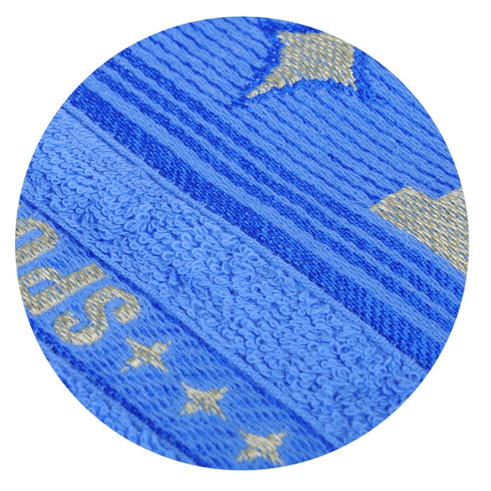 """Полотенце махровое с открыткой """"Sport"""", 100% хлопок, 50х80см, 400гр/м"""