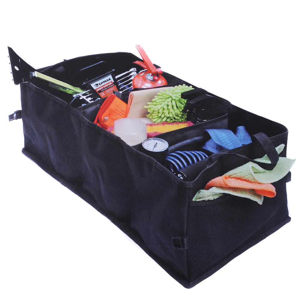 NEW GALAXY Сумка-органайзер универс.,многофункц. складная в багажник, оксфорд, 60х30х25см