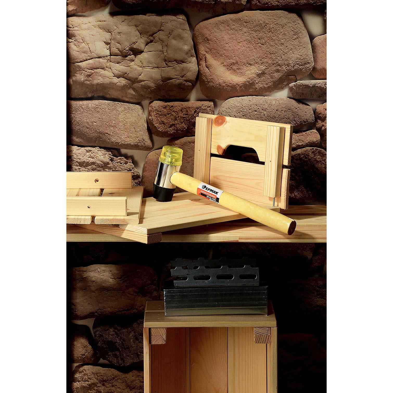 ЕРМАК Молоток рихтовочный, 430гр, 28 см