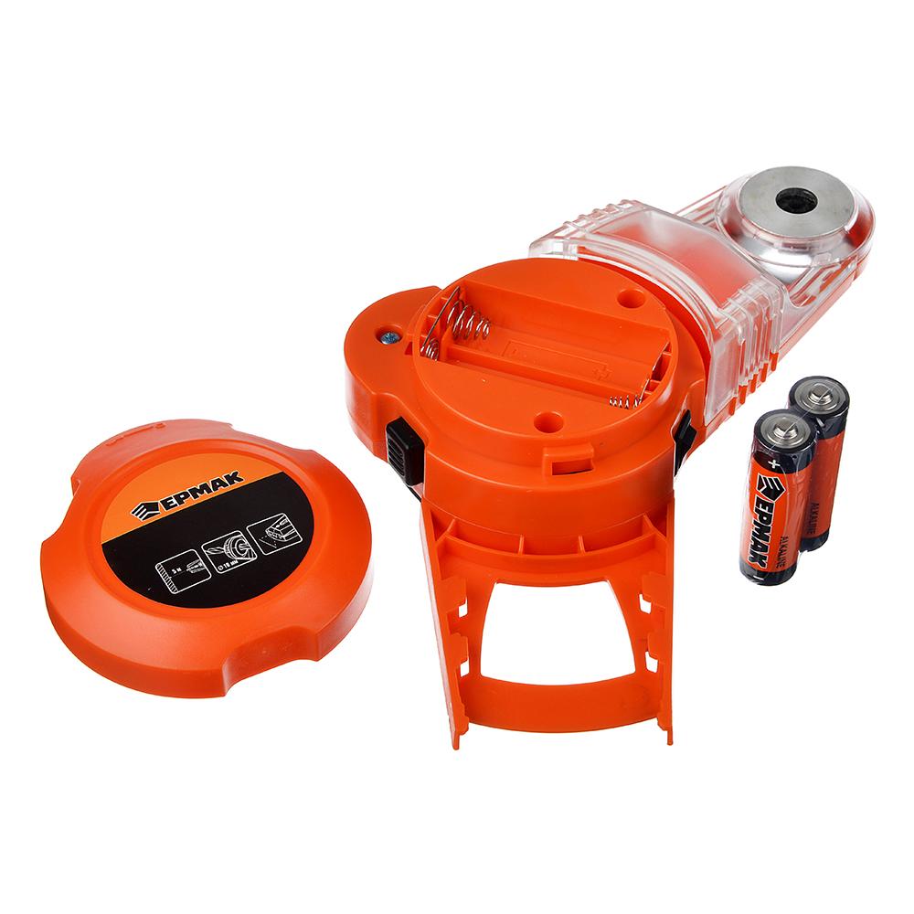 ЕРМАК Уровень лазерный с приспособлением для сверления и пылесборником