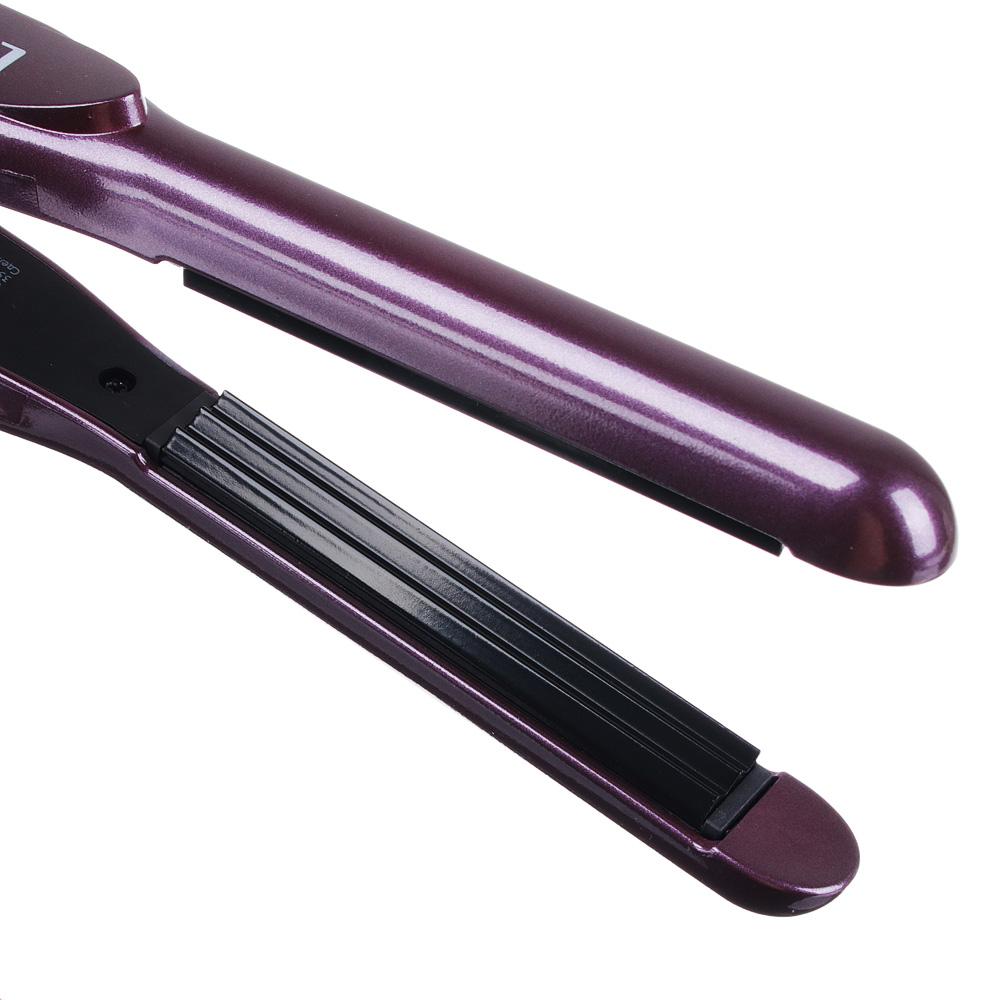 Плойка для волос гофре LEBEN для прикорневого объема, 90х13,5 мм, 35 Вт
