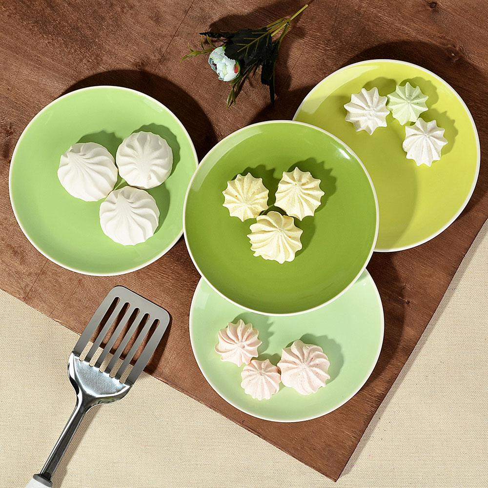 """Набор тарелок 4 шт, d,18,8 см, керамика, MILLIMI """"Радуга"""""""