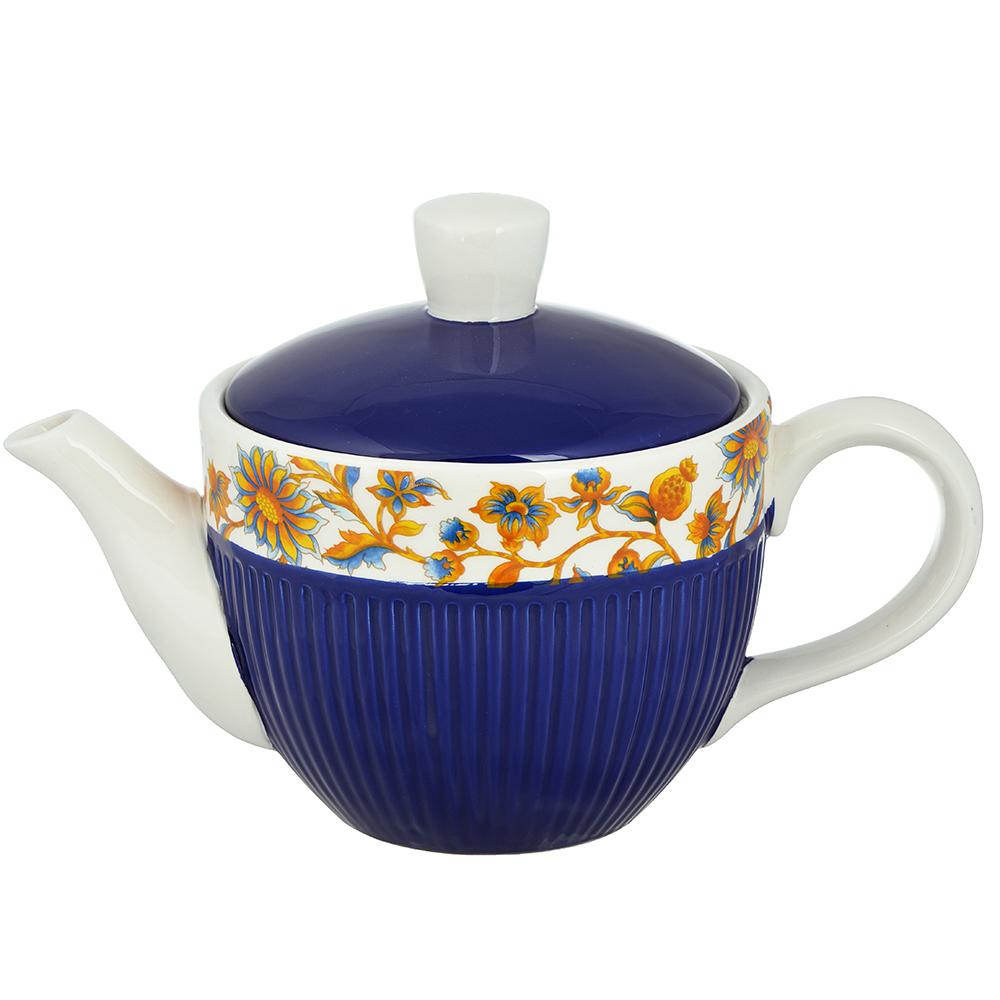 "Чайник заварочный 830 мл, керамика, MILLIMI ""Ноктюрн"""