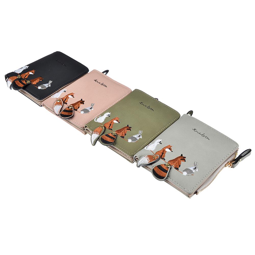 Кошелек женский PAVO, ПУ, 11,5х9см, 4 цвета, КЖ19-7