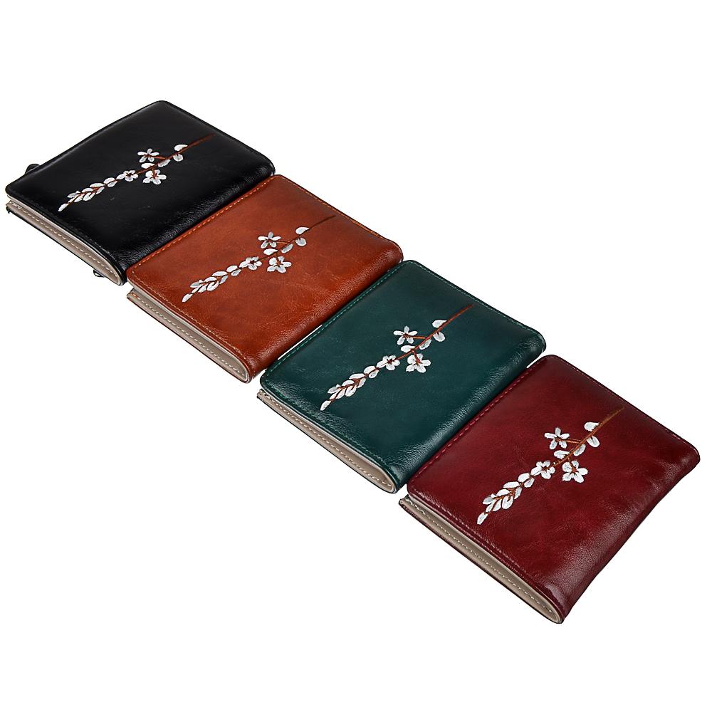 Кошелек женский PAVO, ПУ, 11,5х9см, 4 цвета, КЖ19-8
