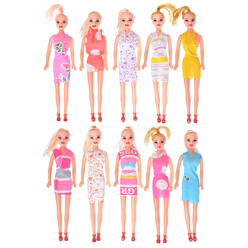 ИГРОЛЕНД Кукла 29 см в пакете, ПВХ, 33х9х4см, 10 дизайнов