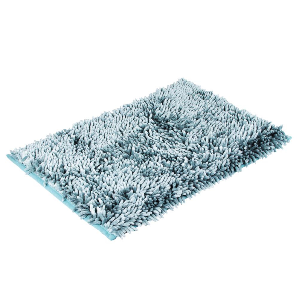 "Коврик для ванной, синель, 3,5 см, 40х60 см, 3 цвета, VETTA ""Перламутр"""