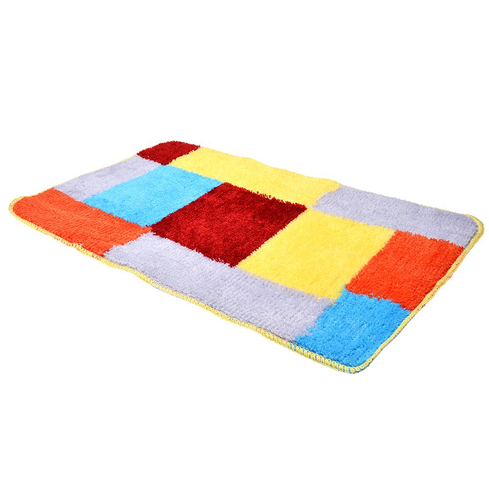 VETTA Набор ковриков 2шт для ванной и туалета, акрил, 50x80см + 50x50см, 4 дизайна