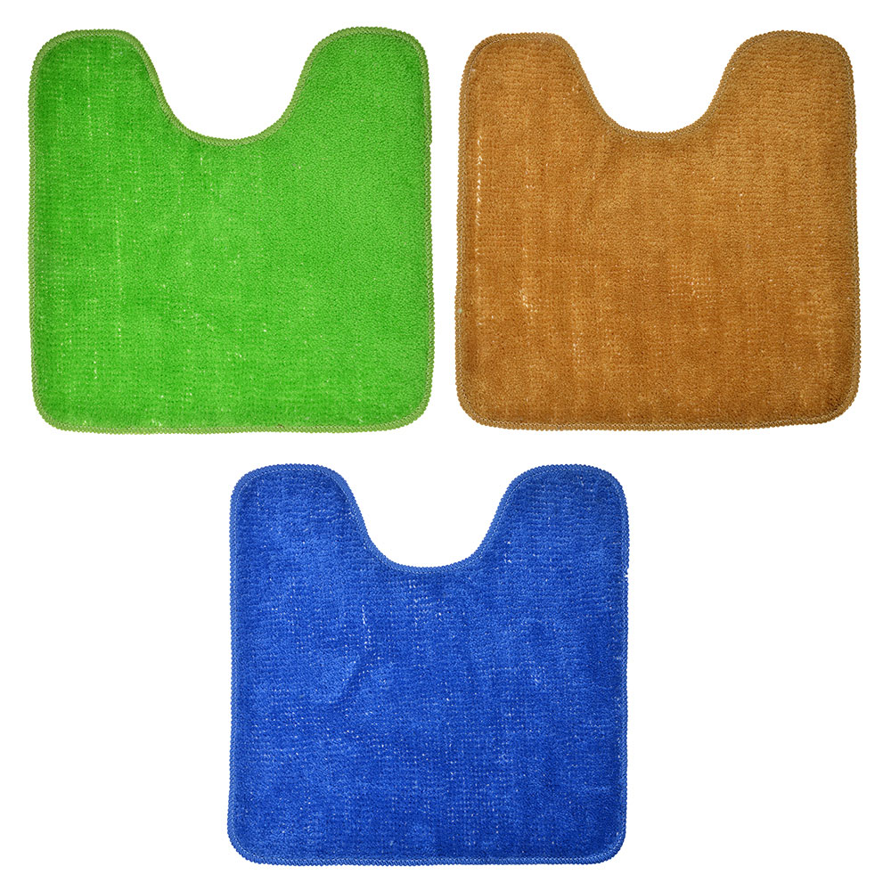 VETTA Коврик для туалета 50x50см, акрил, 3 цвета