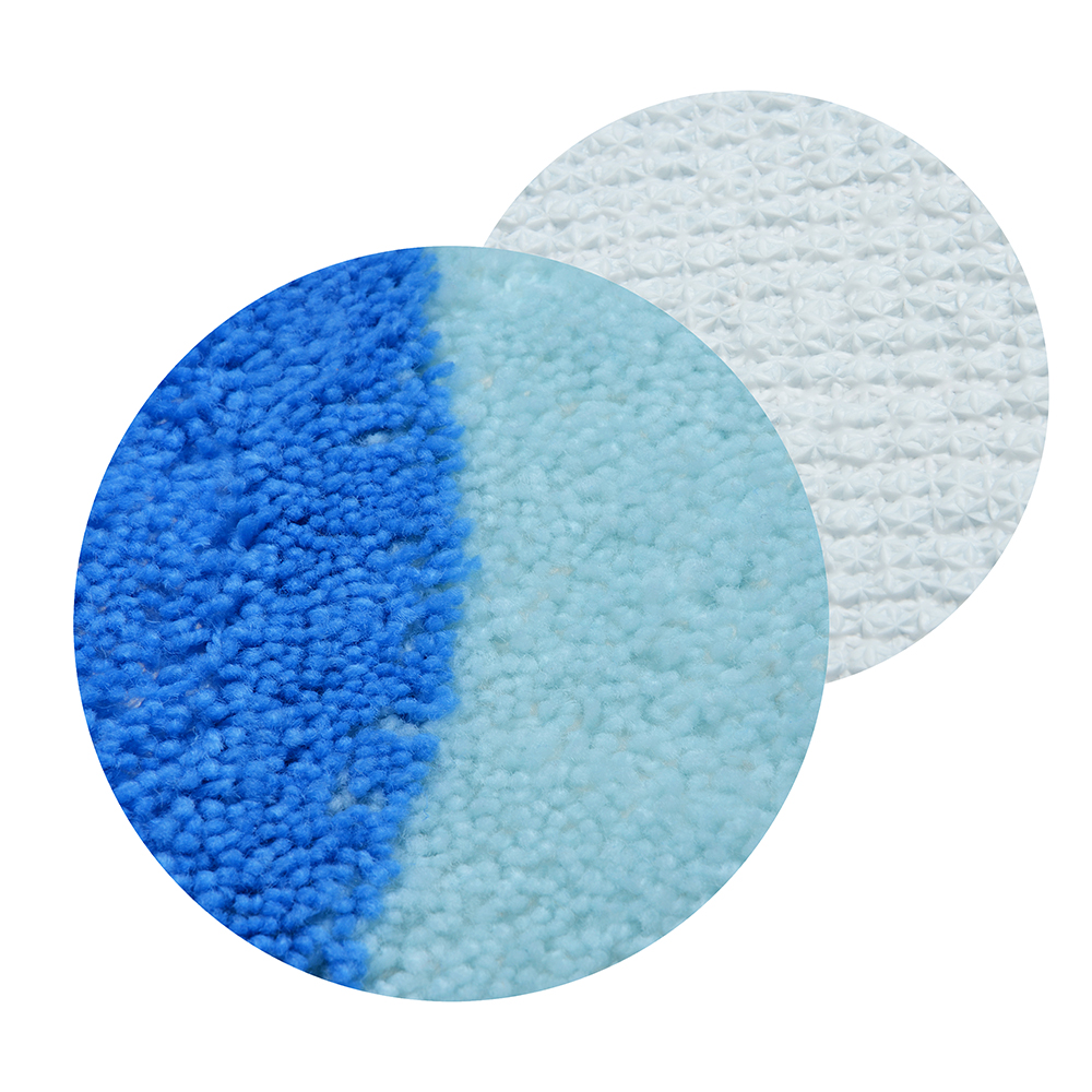 VETTA Коврик для ванной, акрил, 50x80см, голубой, 3 дизайна