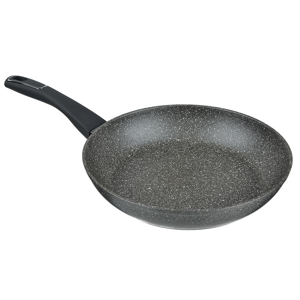 SATOSHI Стенвиль Сковорода литая d. 26см, антипригарное покрытие мрамор, индукция