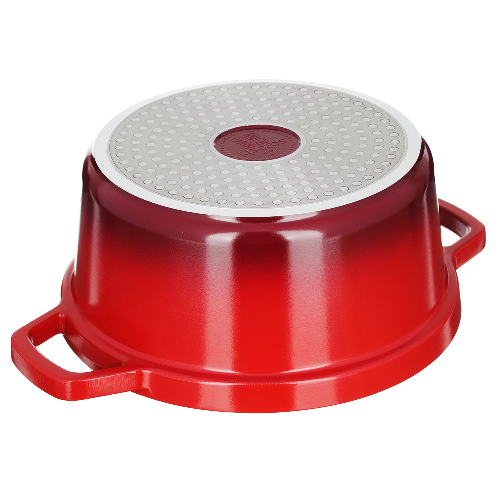 Кастрюля литая с крышкой 4,06 л SATOSHI Ла Шапель, антипригарное покрытие, индукция