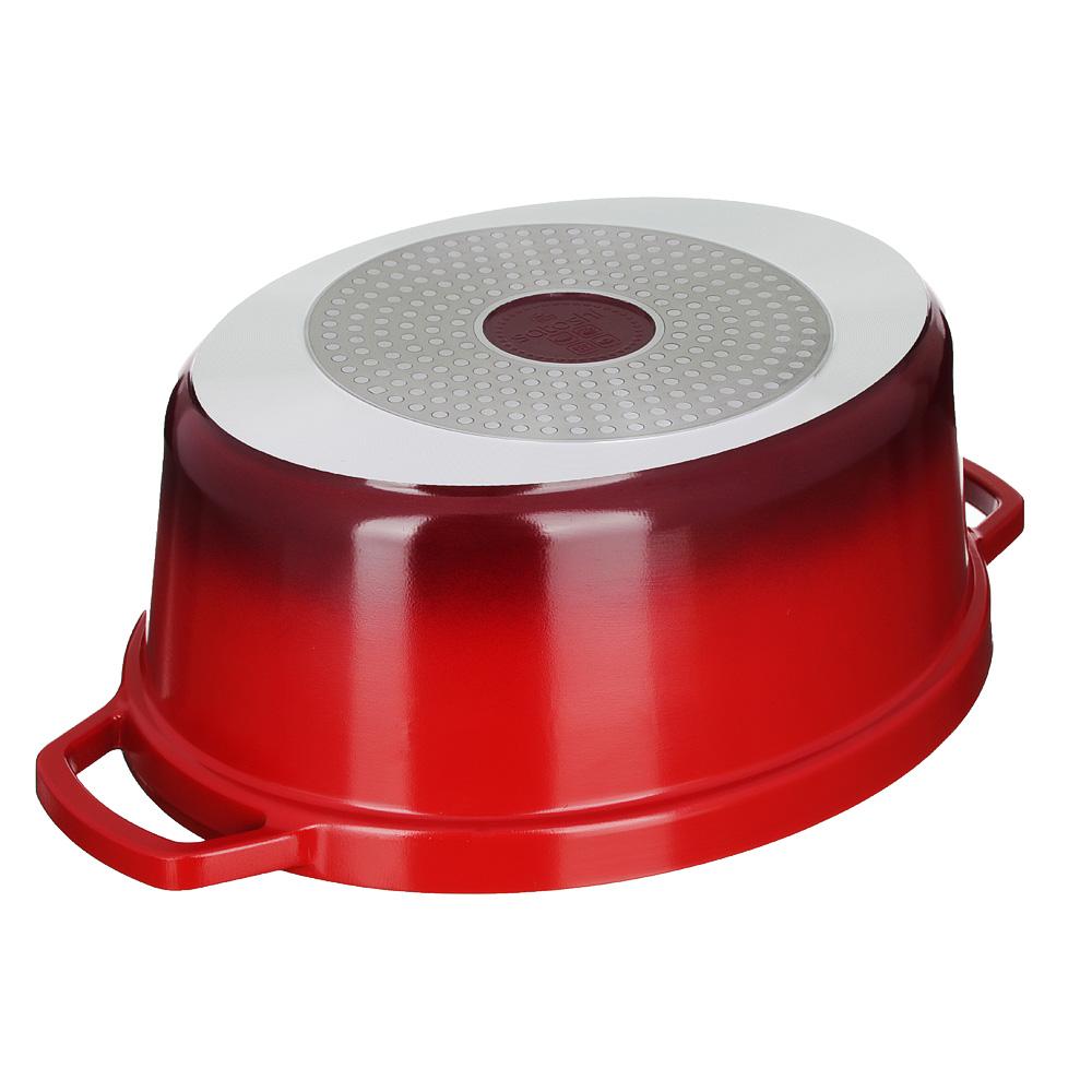Утятница литая с крышкой 5,4 л SATOSHI Ла Шапель, антипригарное покрытие, индукция