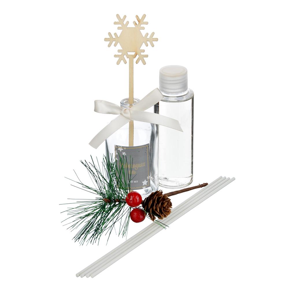 LADECOR Ароманабор с декором Merry Christmas, 100мл, 2 аромата